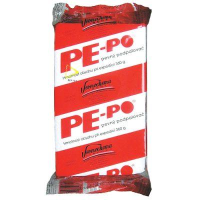Podpaľovač PE-PO® pevný 40 podpalov podpaľač