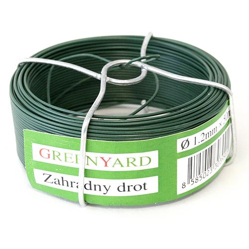 Drôt Garden Wire Pvc 1/20mm L-50m SC cievka