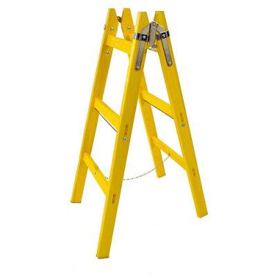 Rebrík DRD MA 4 priečkový maliarsky drevený