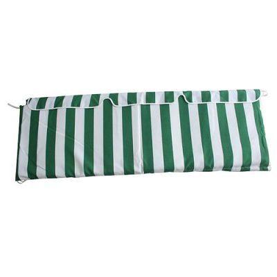 Sedák na hojdačku GARFIELD, zelený/biely