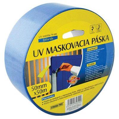Páska KL-SMV-02 50mm L-50m maskovacia modrá U.V.7-17 d