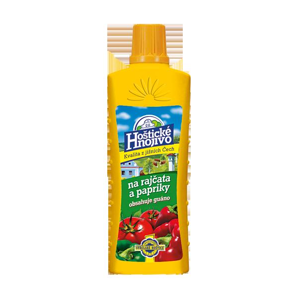 Hoštické hnojivo na paradajky a papriky s guánom, 500ml