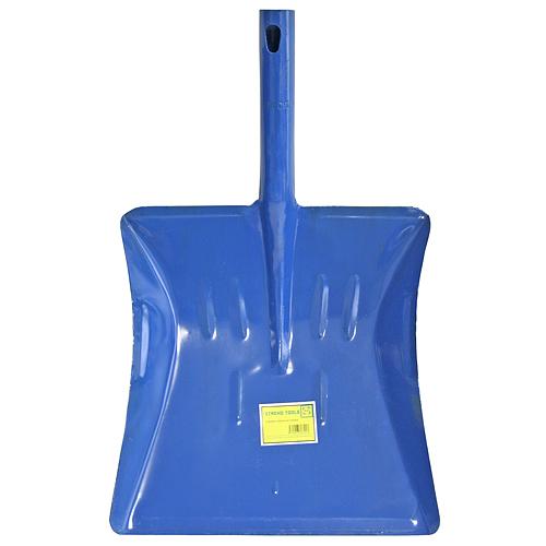Lopatka na smetie S532M kovová modrá