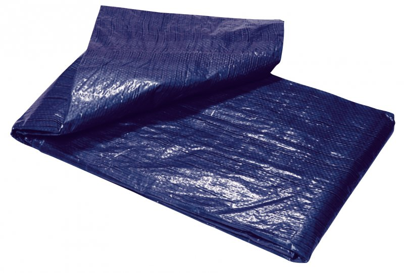 Plachta Tarpaulin Standard 6x10m, prekrývacia, 80 g/m2, modrá
