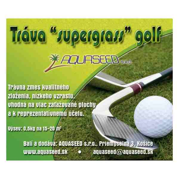 "Tráva ""supergrass"" golf zmes semien 0/5kg"