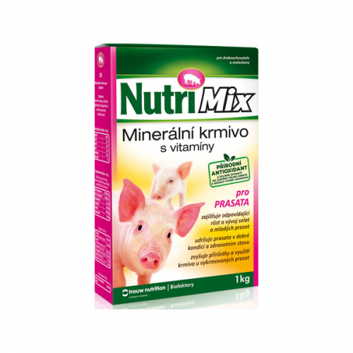 Minerálne krmivo Nutrimix pre ošípané, 1kg