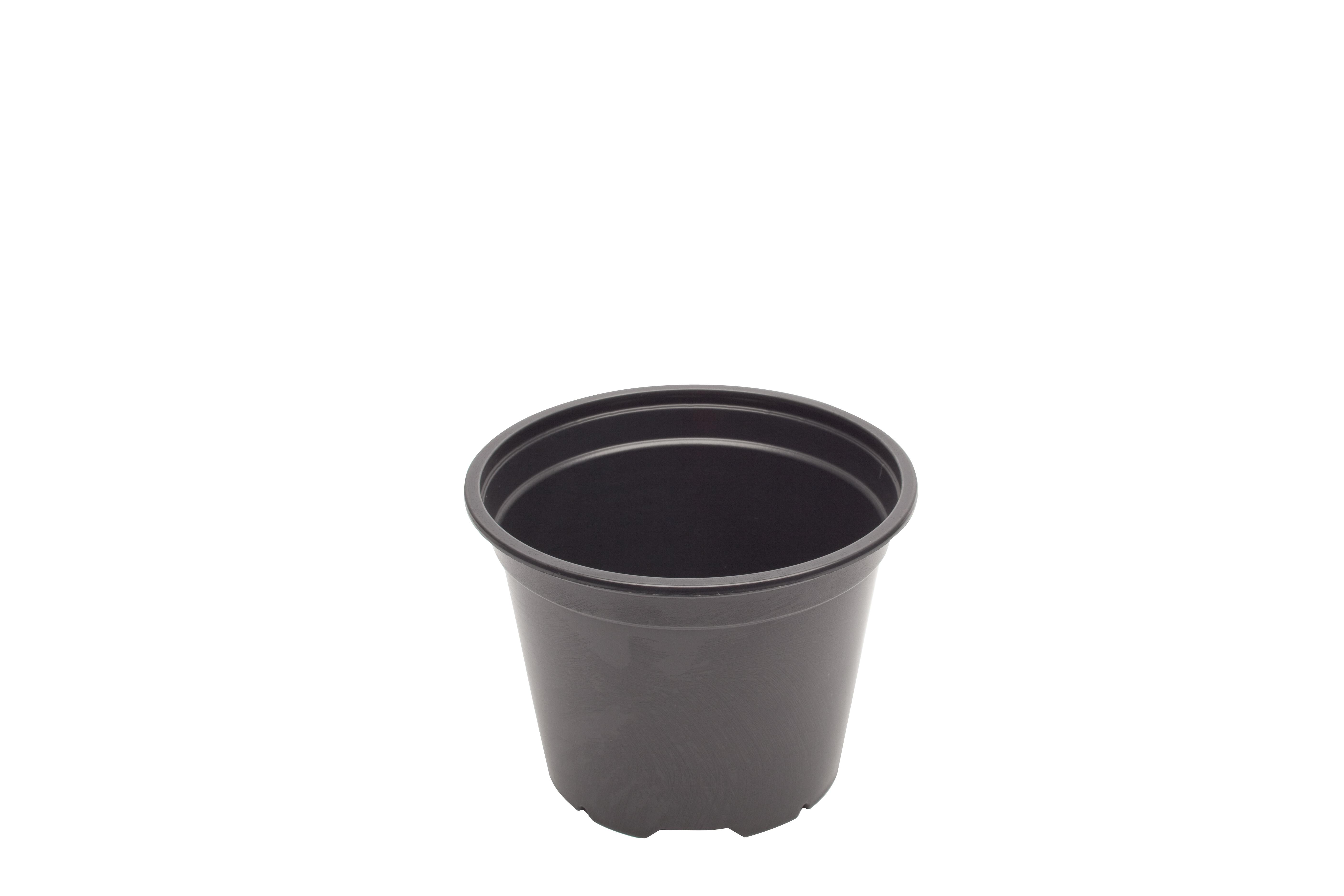 Kvetináč kontajner 24cm čierny priesady