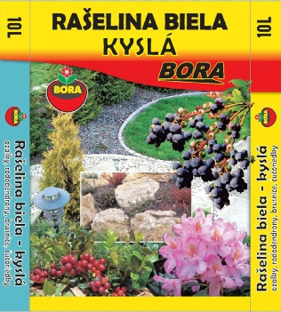 Substrát rašelina biela BORA, 50l