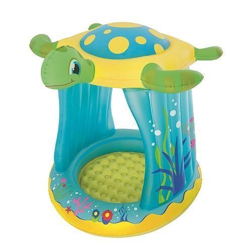 Bazénik Bestway® 52219, Turtle Totz, detský, 109x96x104 cm, nafukovací
