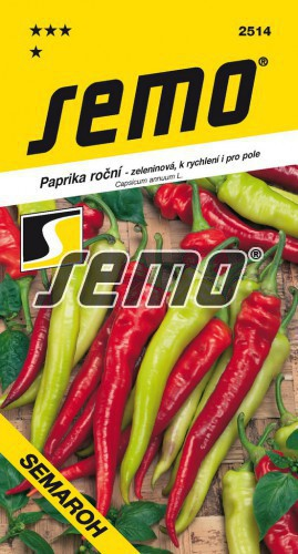 Paprika ročná Semaroh 0.6g