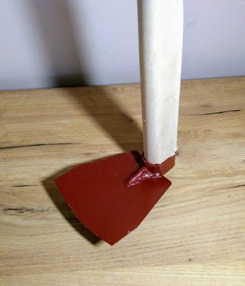 Motyka gatrová hranatá s násadou 12x12cm Handmade ručná výroba