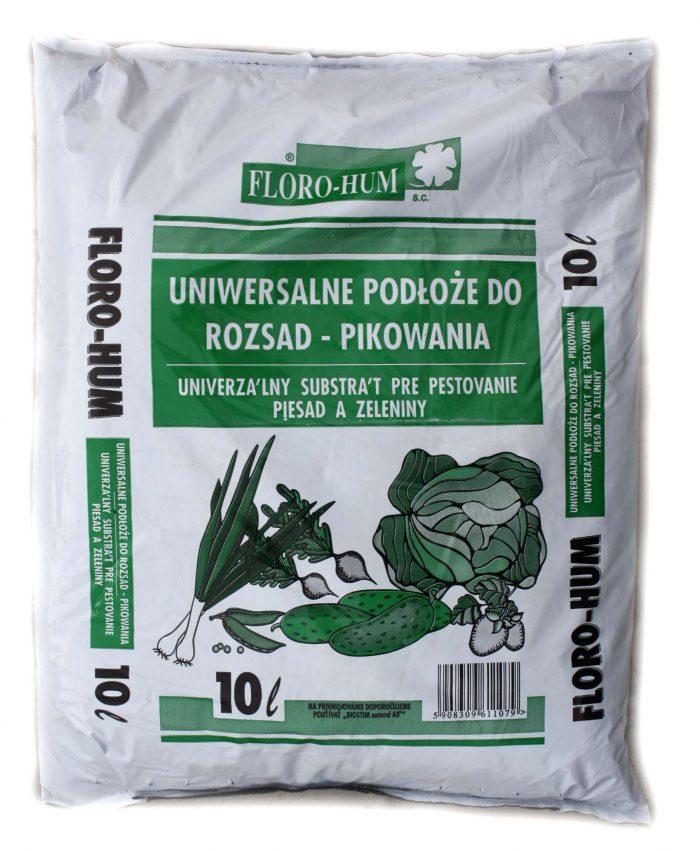Substrát výsev, pestovanie priesad a zeleniny, 10l