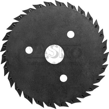 Pílový kotúč do uhlovej brúsky 125x3x22,2 mm TARPOL, T-10