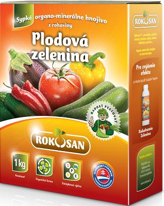 Rokosan Plodová zelenina - organomin. hnojivo z rohoviny, 1kg