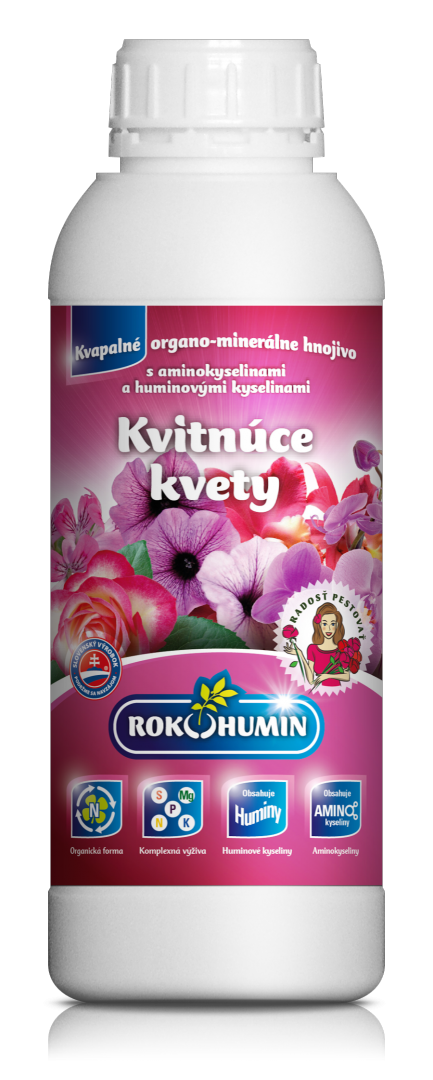 Rokohumin Kvitnúce kvety hnojivo s amino. a humínovými kyselinami