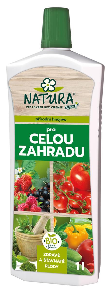 NATURA Organické hnojivo na celú záhradu 1l