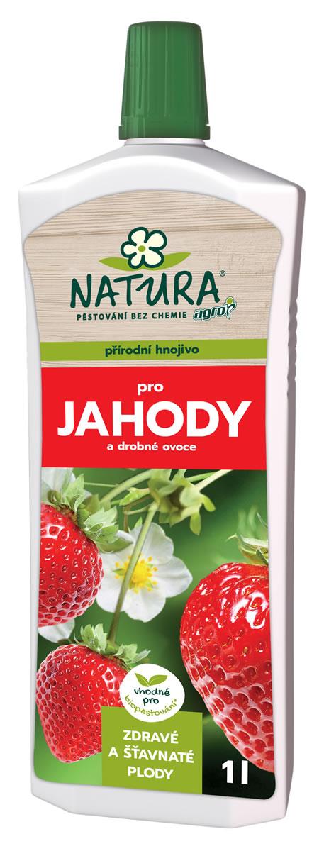 NATURA Organické hnojivo na jahody a drobné ovocie 1l