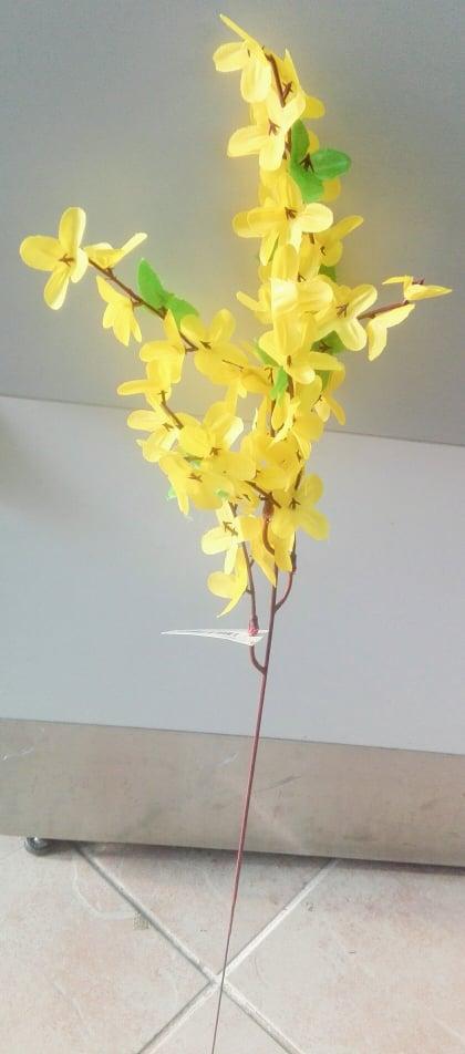 Zlatý dážď s lístkami Umelé kvety 50cm