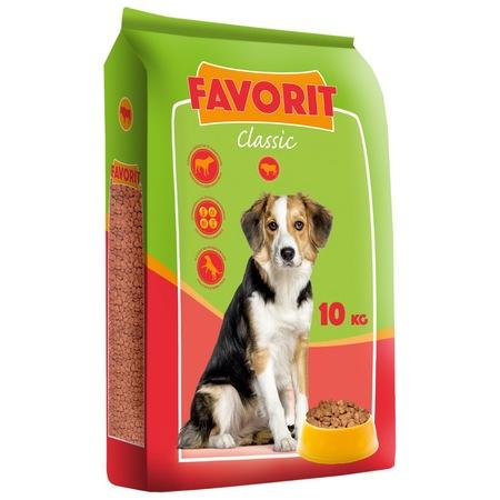 Krmivo pre psov Favorit Classic 10kg