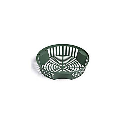 Košík na cibuľoviny 21/5cm zelený