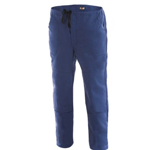 Pracovné nohavice MIREK modré so šnúrkou