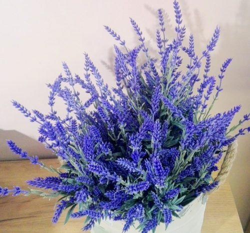 Umelé kvety Levanduľa 7x