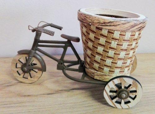Bicykel s obalom na kvetináč 21cm