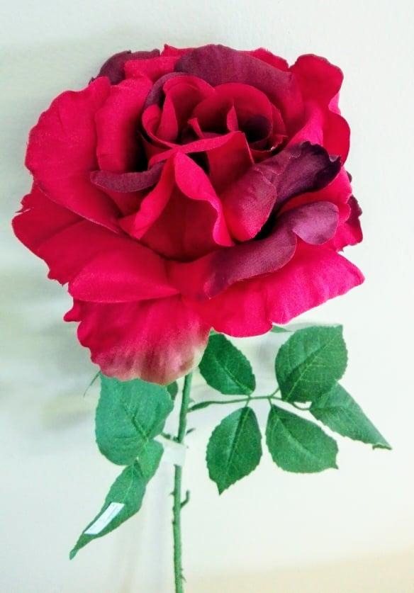 Umelé kvety Ruža mix farieb 77cm