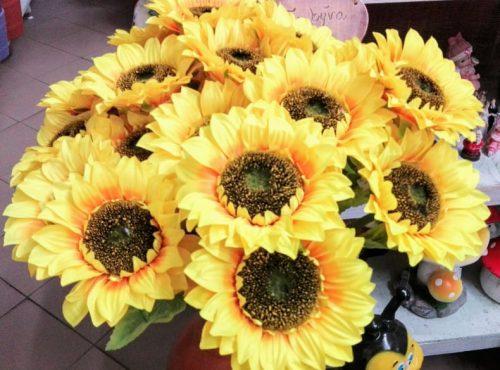 Umelé kvety Slnečnica 70cm