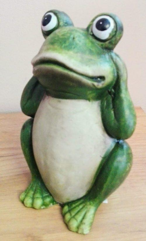 Žaba keramická 21x13cm