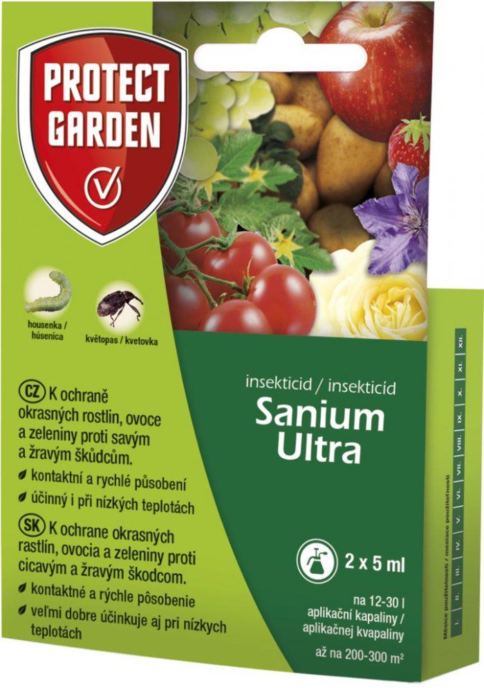 Sanium Ultra 2x5ml okrasné rastliny ovocie a zelenina