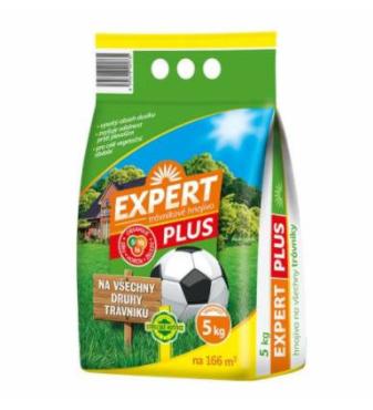 Expert trávnikové hnojivo plus 5kg