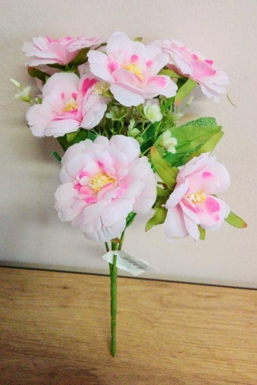 Umelé kvety Kytica čerešňový kvet mix