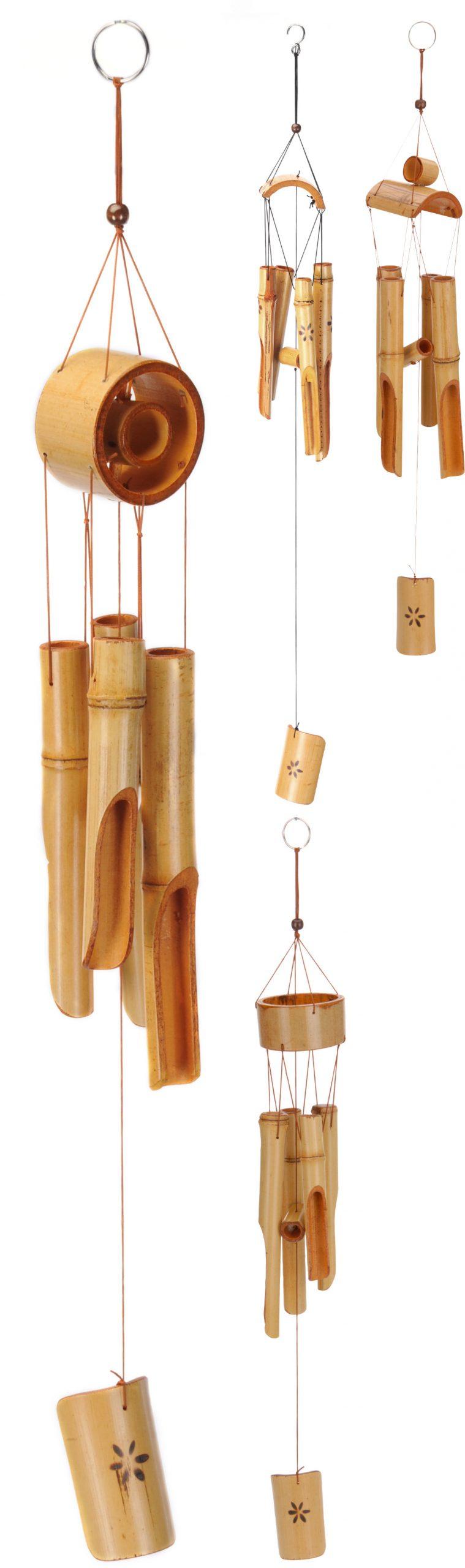 Bambusová zvonkohra 75cm