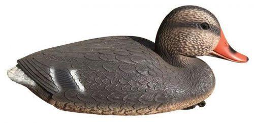Dekorácia Kačica divá samica 38x18x17cm plast