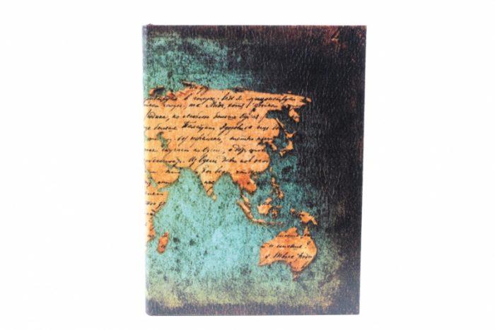Dekoračná dóza kniha drevená 19x14x4cm