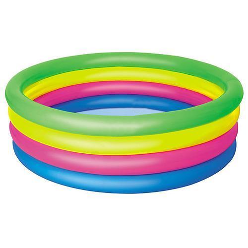Bazén Bestway® 51117 Rainbow detský 157x46cm nafukovací dúhový