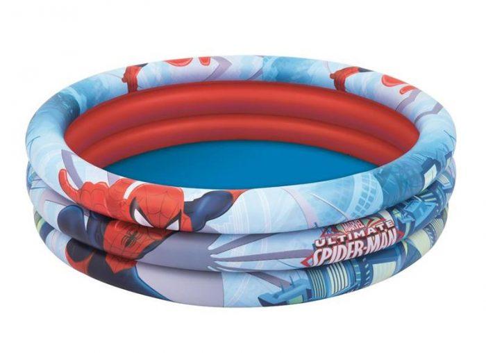 Bazénik Bestway® 98018 Spider-Man 122x30cm nafukovací detský
