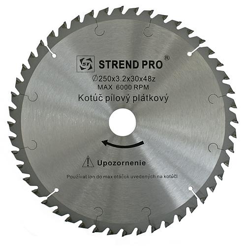 Kotúč Strend Pro SuperSaw NWZ 250x3.2x30 48T na drevo pílový SK plátky