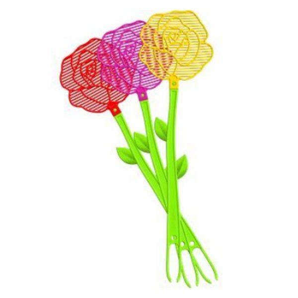 Plácačka na muchy kvet