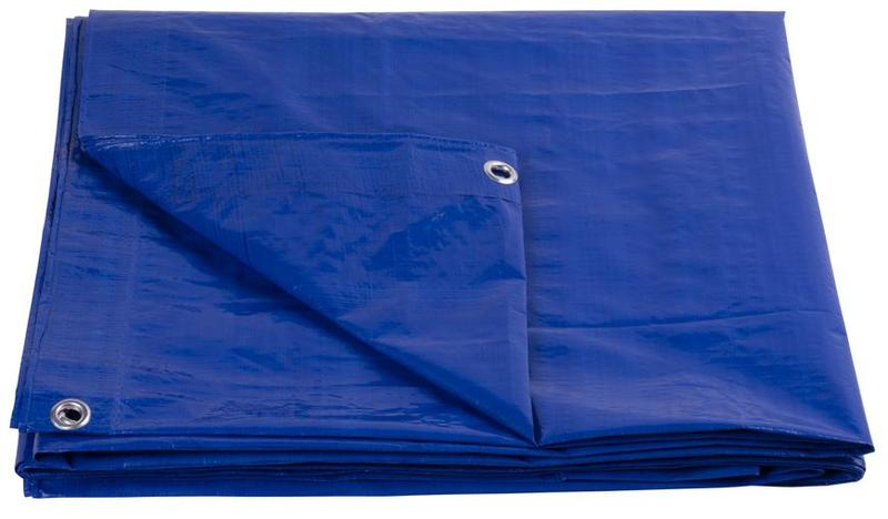 Plachta Tarpaulin Standard 3x3m zakrývacia 80 g/m2 modrá