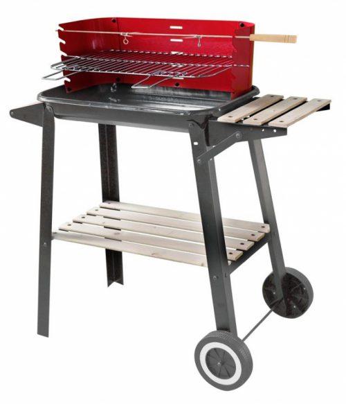 Gril BBQ Granada 61x37x90cm na drevené uhlie