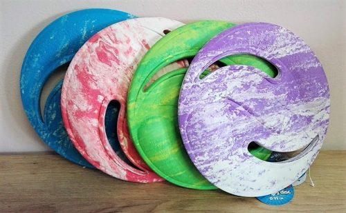 Lietajúci tanier pre deti 22cm penový do vody