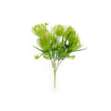 Umelé kvety Kytica Protea x7
