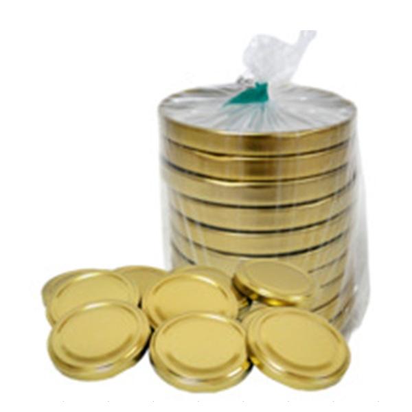 Uzáver viečko šrubovacie 0.3l 20ks zlaté