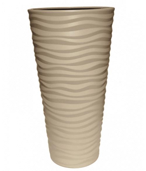 Kvetináč DPSA300 Sahara slim Latte 30cm