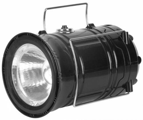 Lampa Strend Pro Camping CL102 LED 80lm 1200mAh efekt plameňa USB výstup svietidlo nabíjanie